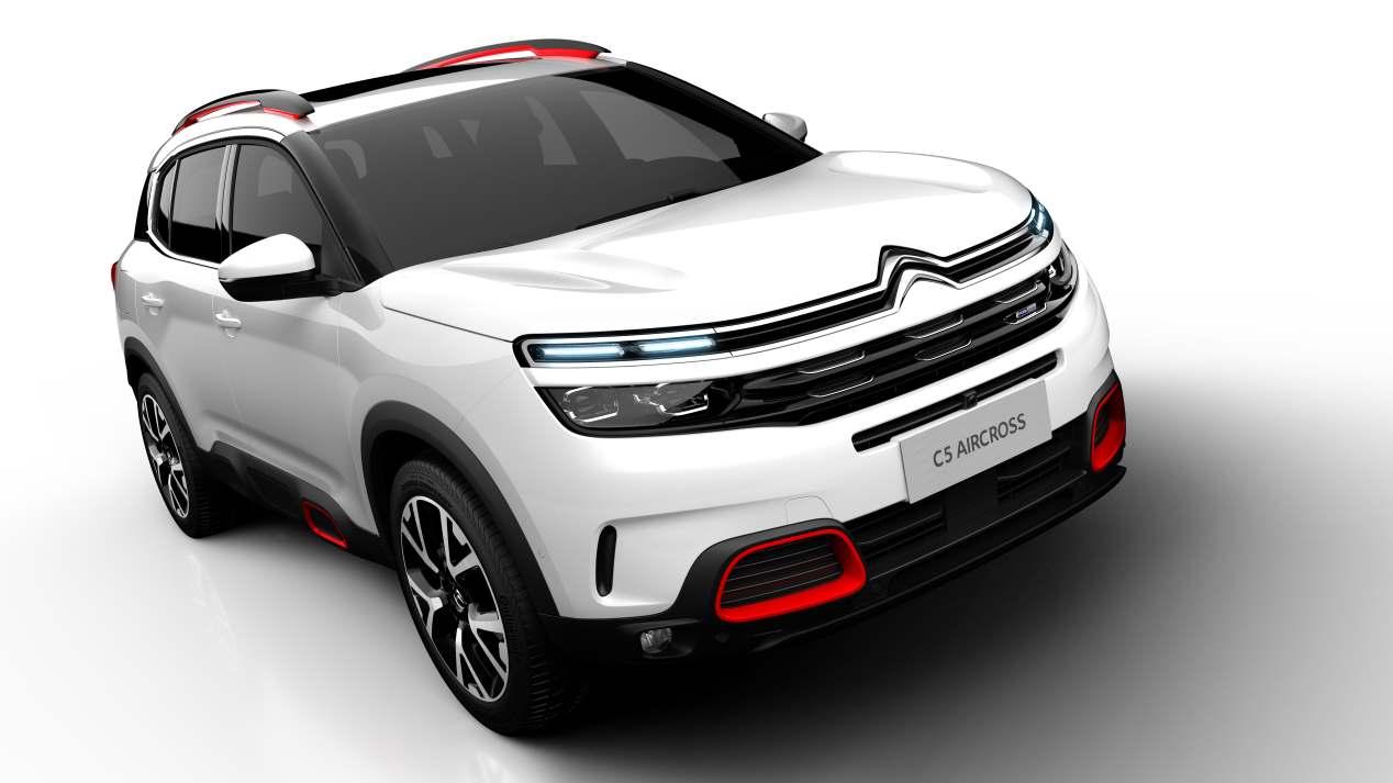 El nuevo Citroën C5 Aircross, en movimiento