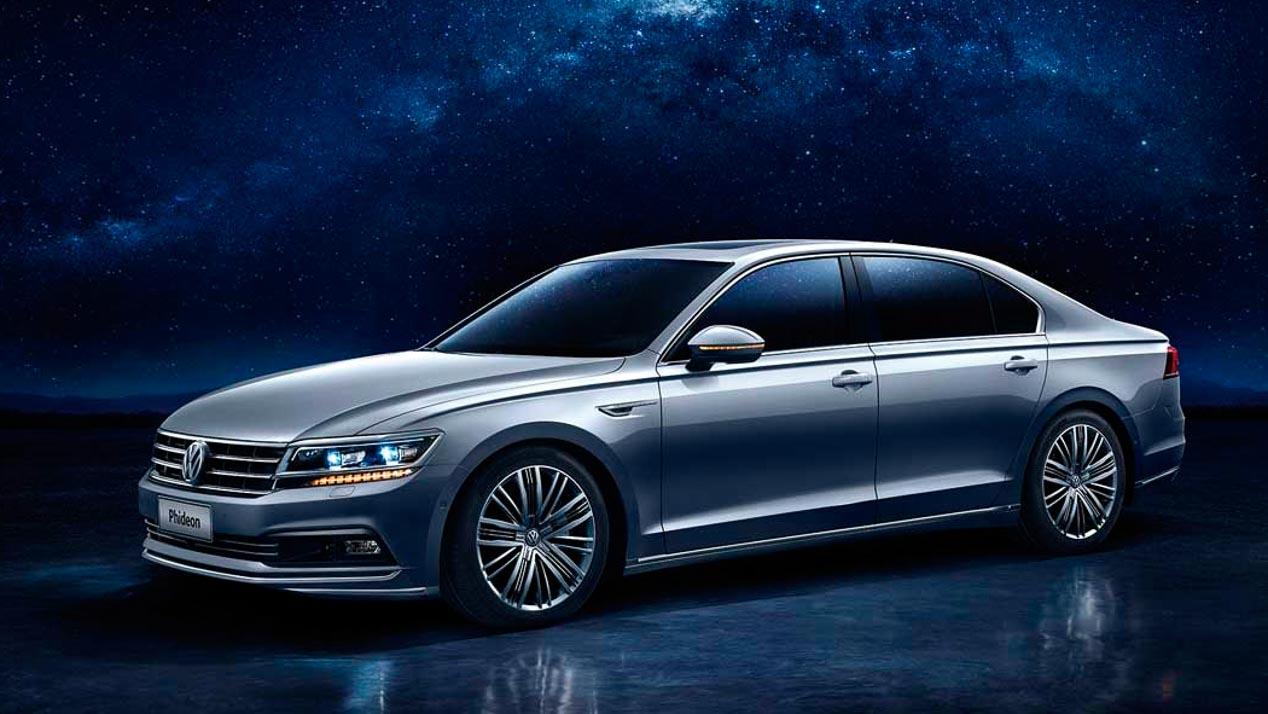 Volkswagen Phideon GTE – Volkswagen también tendrá un híbrido enchufable de fabricación china