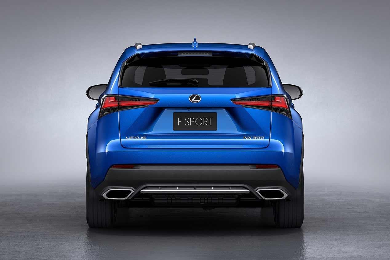 Lexus NX 2018, las mejores fotos del SUV nipón