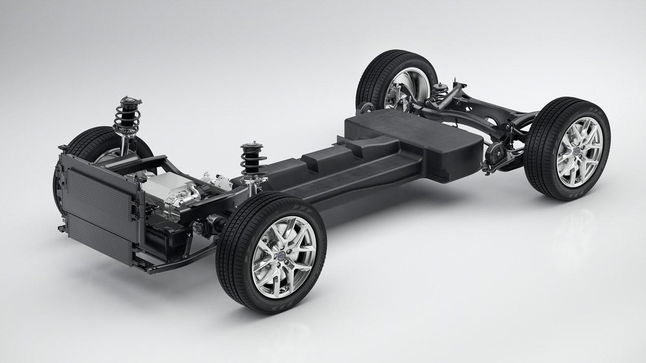 Primer coche eléctrico de Volvo