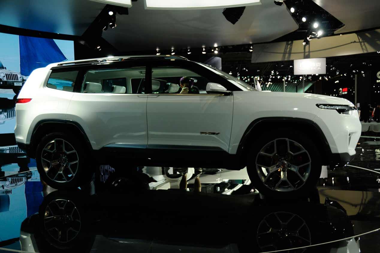 Jeep Yuntu Concept: las fotos de un SUV de lo más original