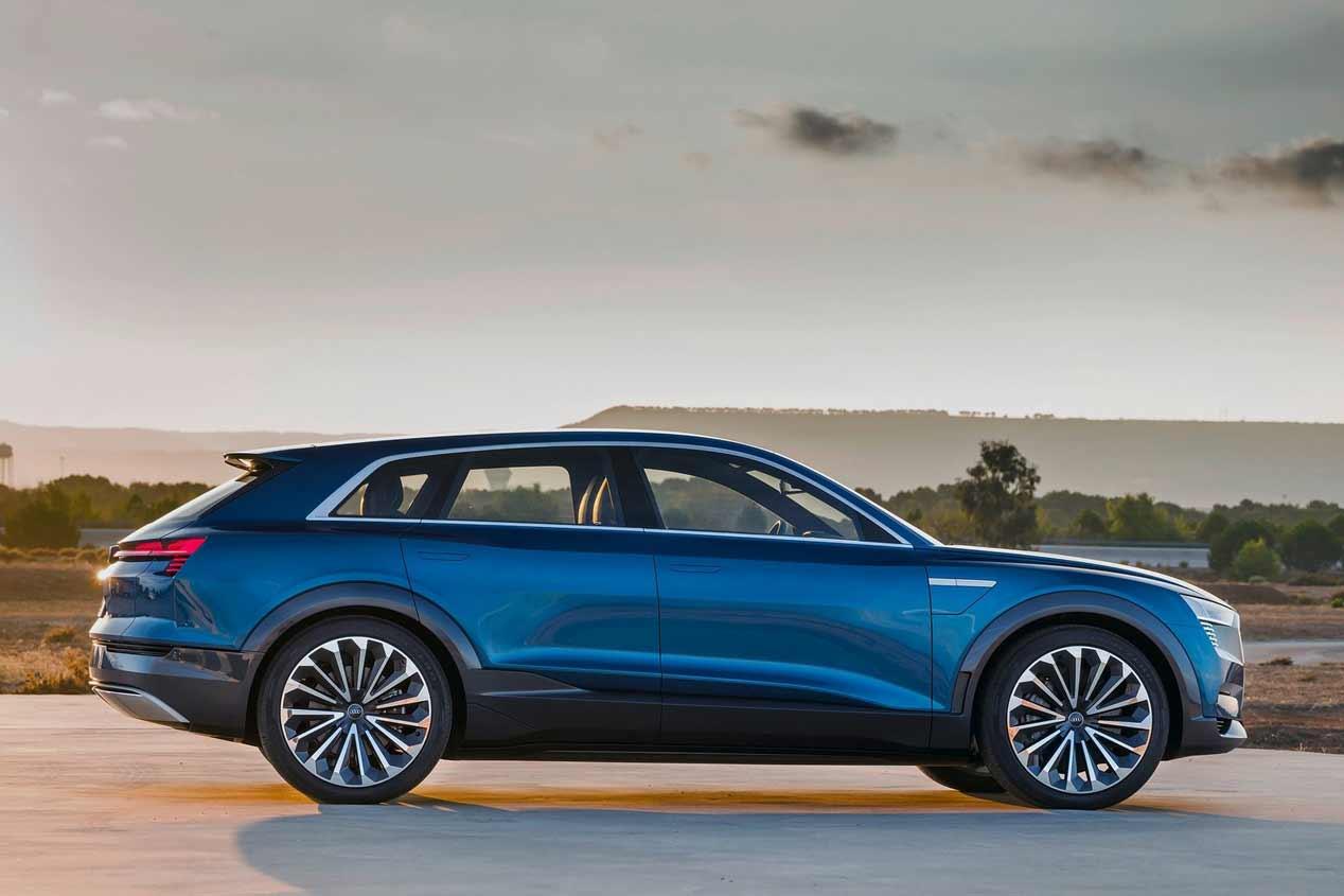 Audi E-tron Quattro 2018, fotos del nuevo SUV eléctrico