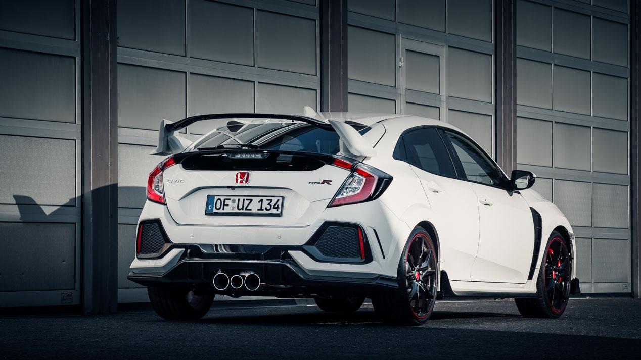Honda Civic Type R 2017, nuevo récord en Nürburgring