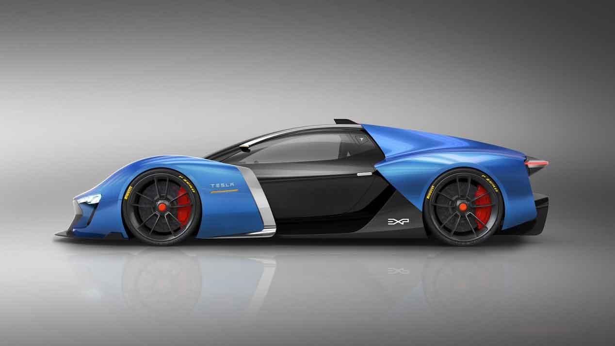 Tesla Model EXP, el superdeportivo de Tesla diseñado por un español