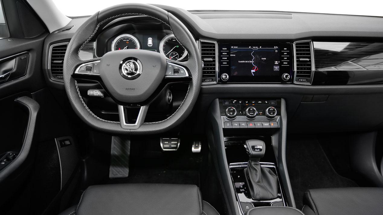 Comparativa SUV 7 plazas: Nissan X-Trail vx Skoda Kodiaq