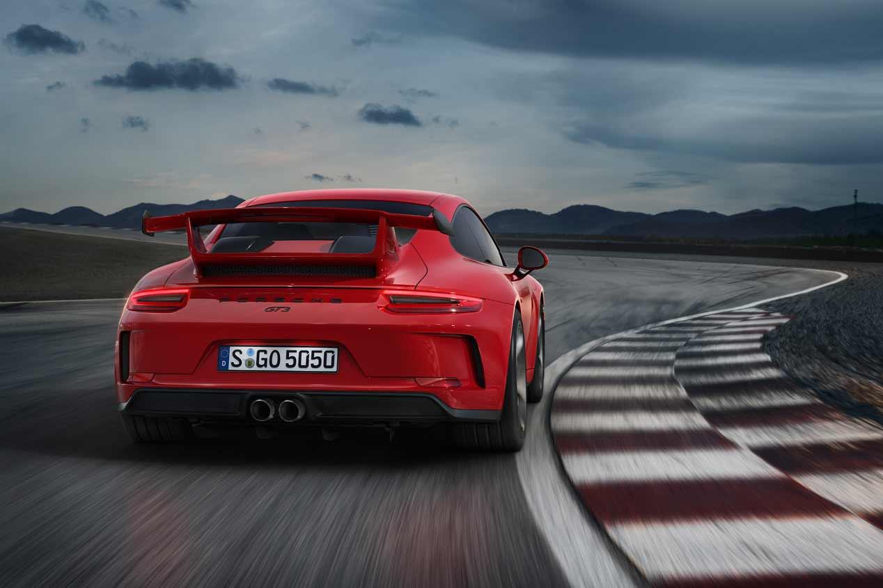 Porsche 911 GT3 2017, las mejores imágenes