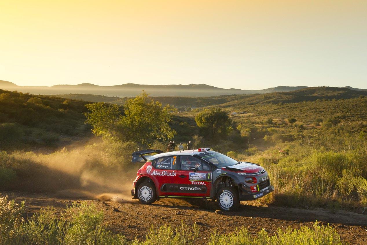 Rally de Argentina 2017: emoción hasta el último tramo