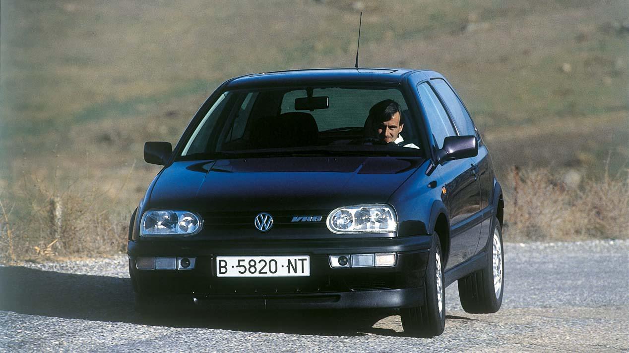 Pruebas míticas: Volkswagen Golf VR6