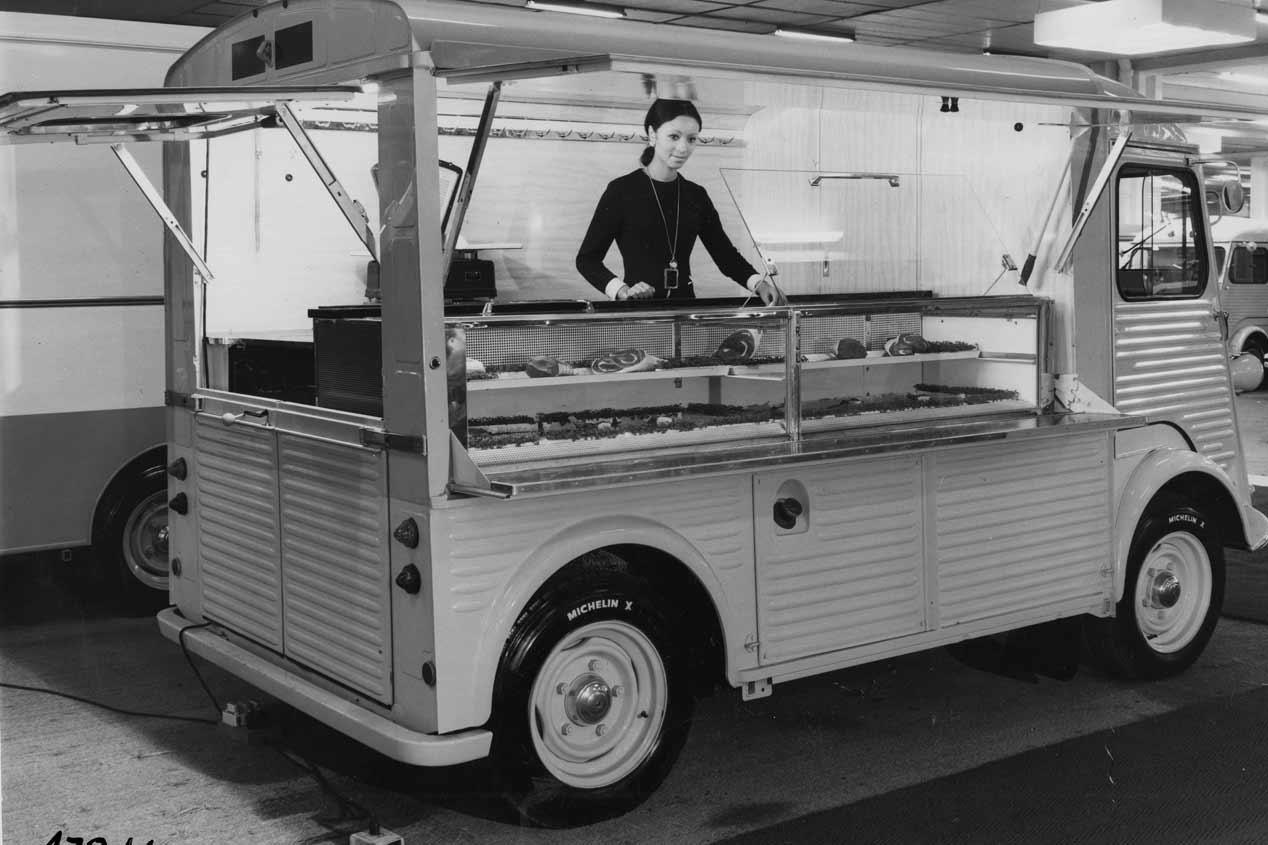 Citroën Type H: las fotos de una furgoneta mítica