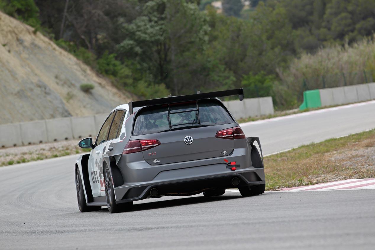 Volkswagen Golf GTI TCR, el coche de carreras de VW