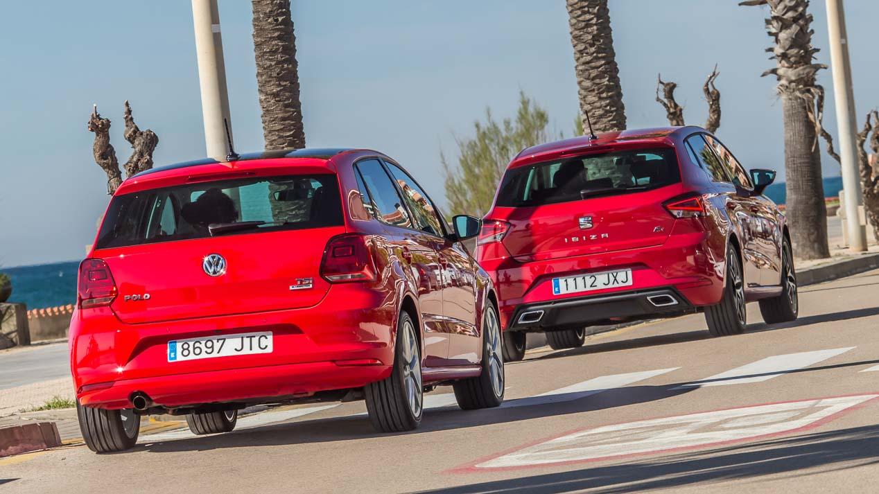 Seat Ibiza 2017 y VW Polo, frente a frente