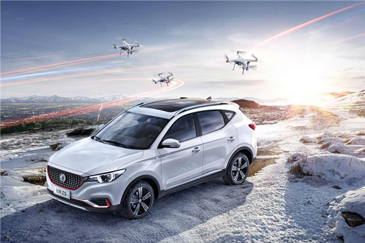 MG XS, las fotos del nuevo SUV con genes chinos