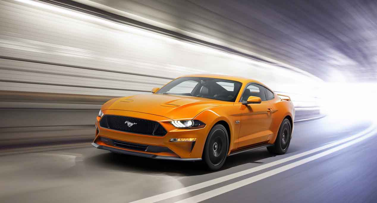 Más imágenes del Ford Mustang 2018