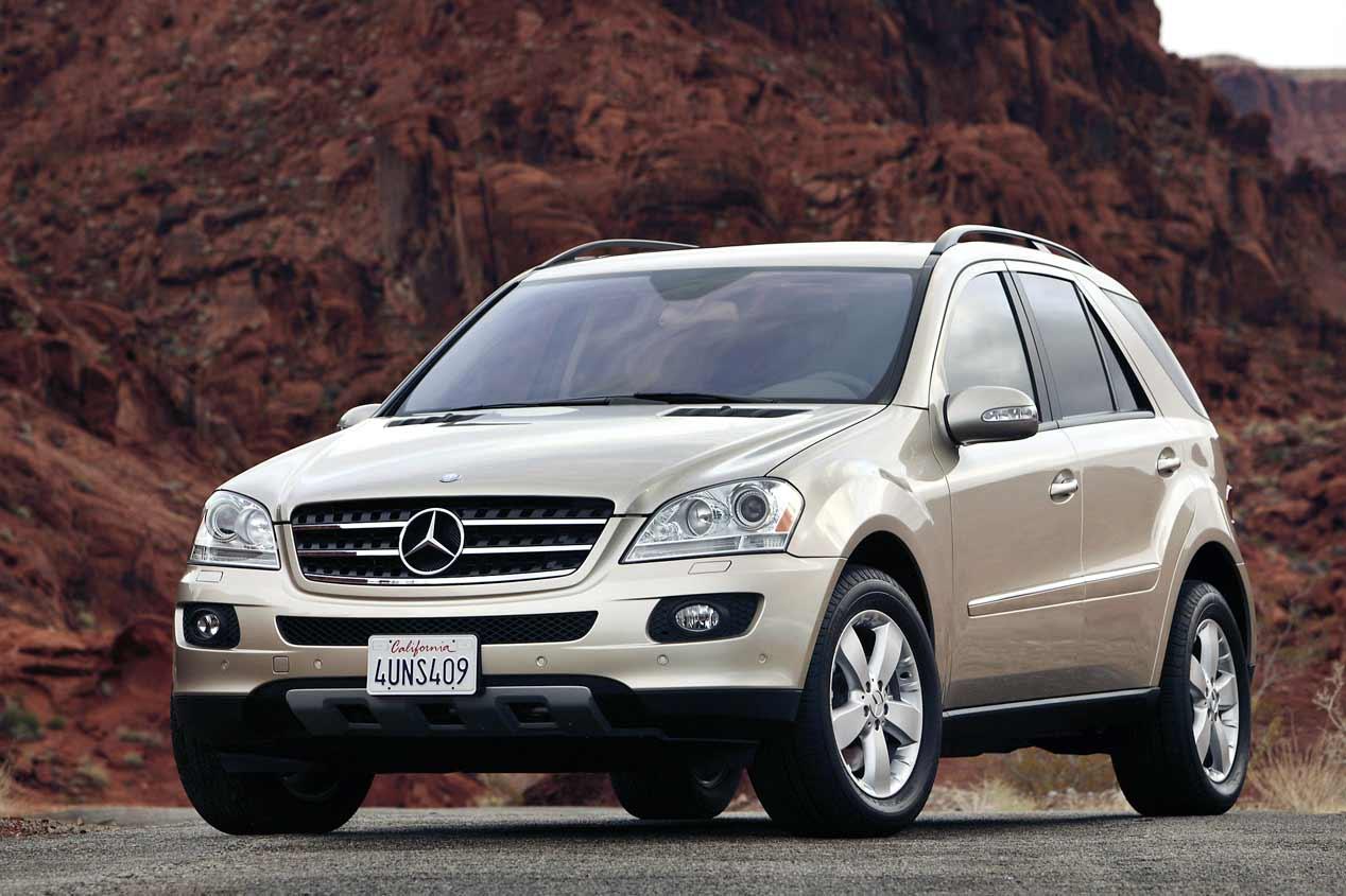 El Mercedes Clase M cumple 20 años, sus mejores fotos