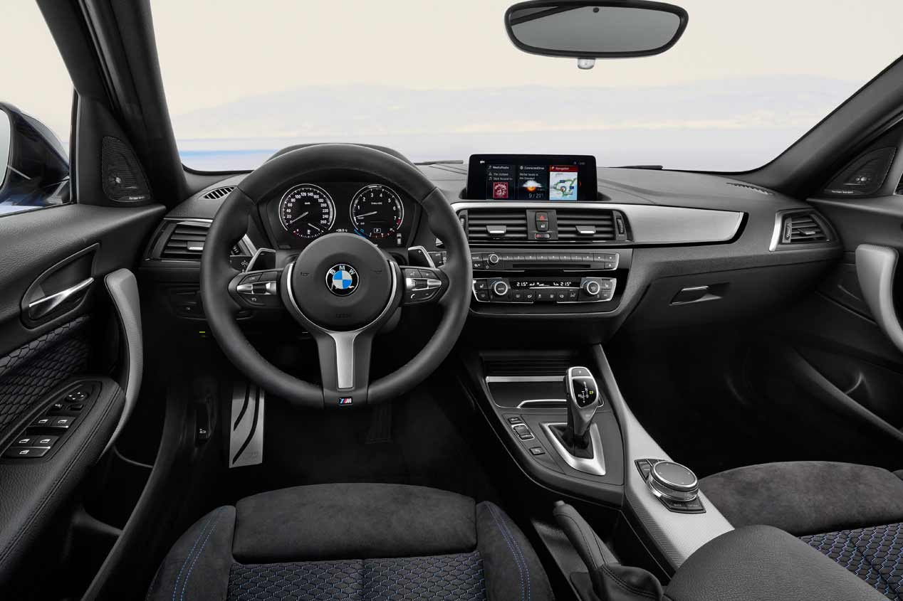 Galer a bmw serie 1 2017 fotos autopista for Serie 1 interieur