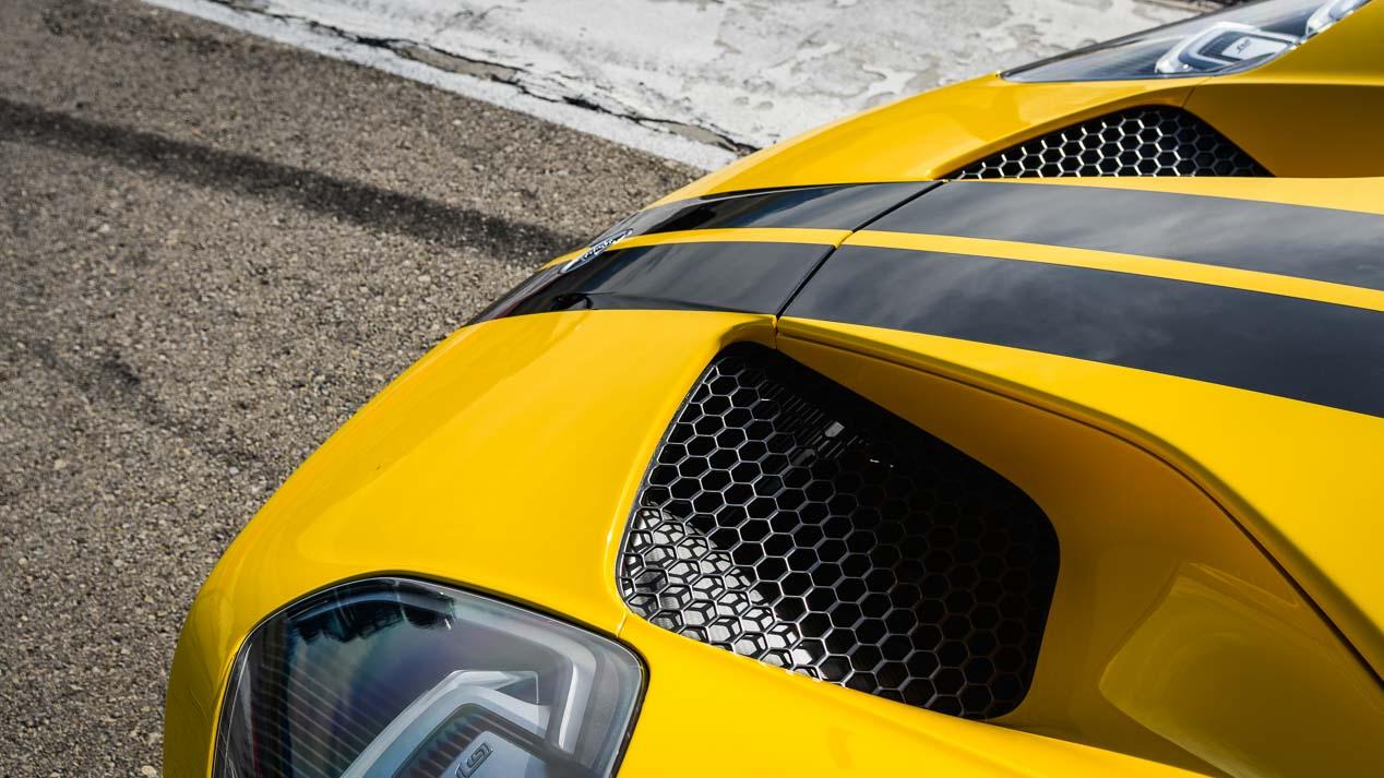 Así es el supercoche de Ford, un biplaza de carreras legalizado para su uso en carretera