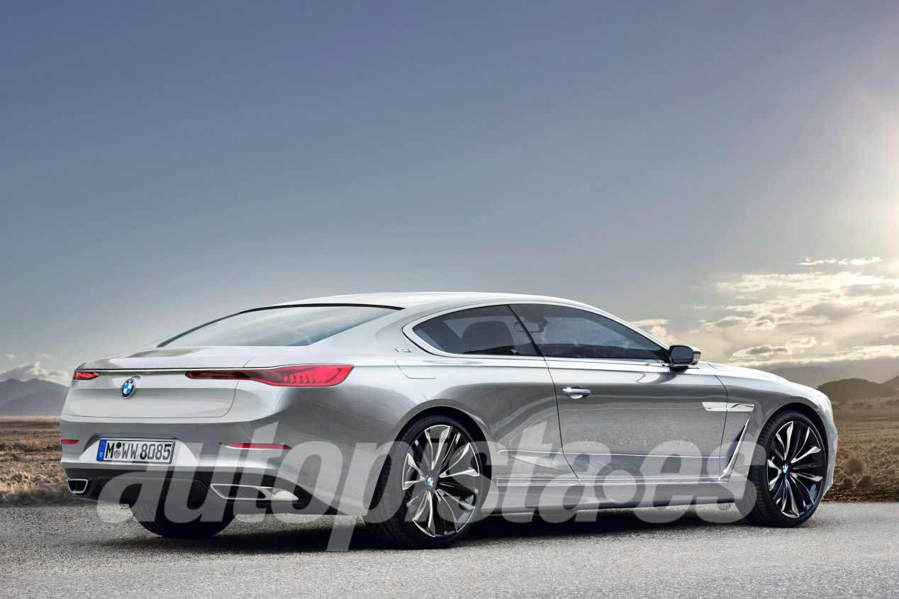 Así serán los nuevos BMW Serie 8