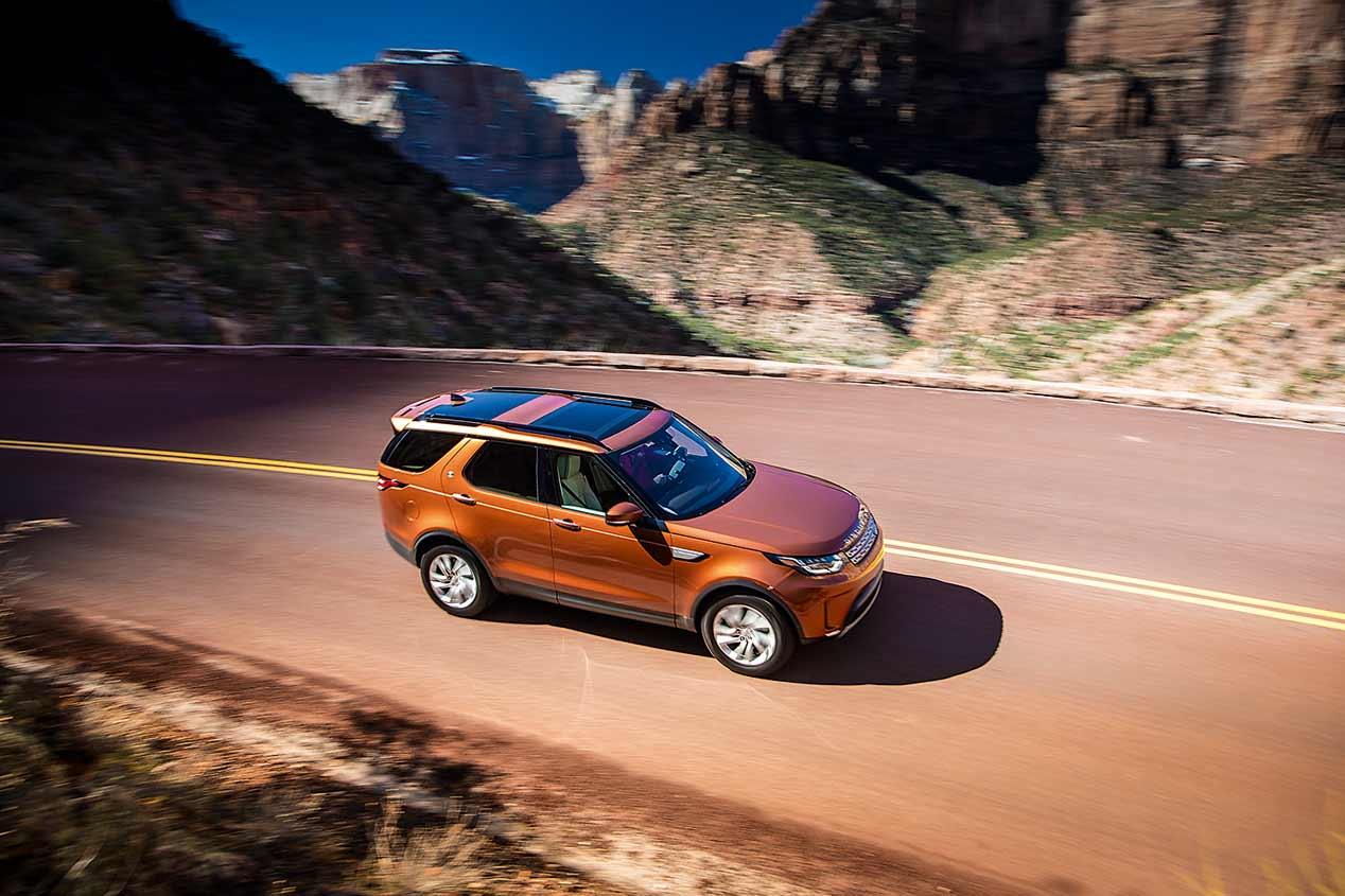 Ruta por el Río Colorado a bordo del Land Rover Discovery