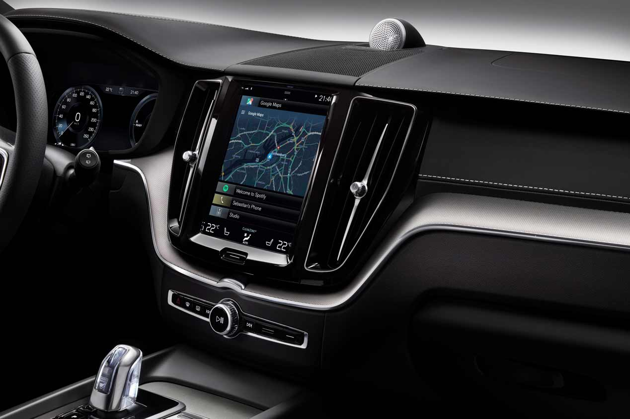 Volvo XC60: todas las fotos del nuevo SUV