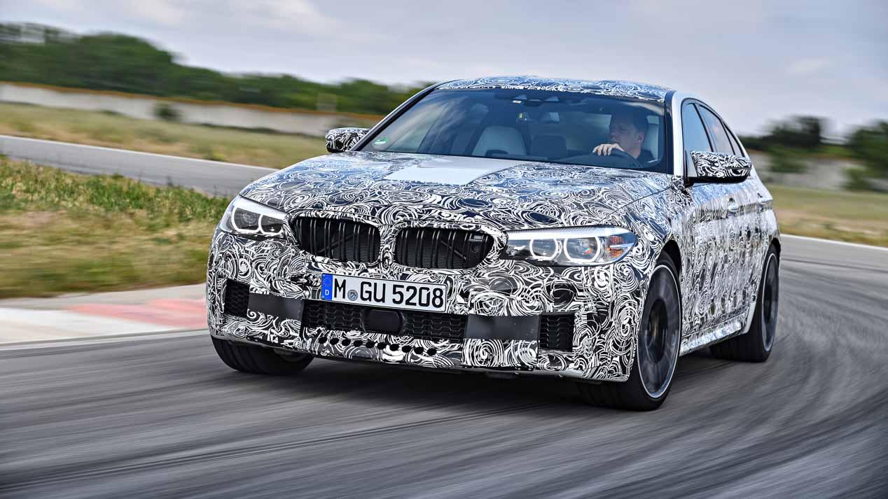 BMW M5, ahora con tracción total
