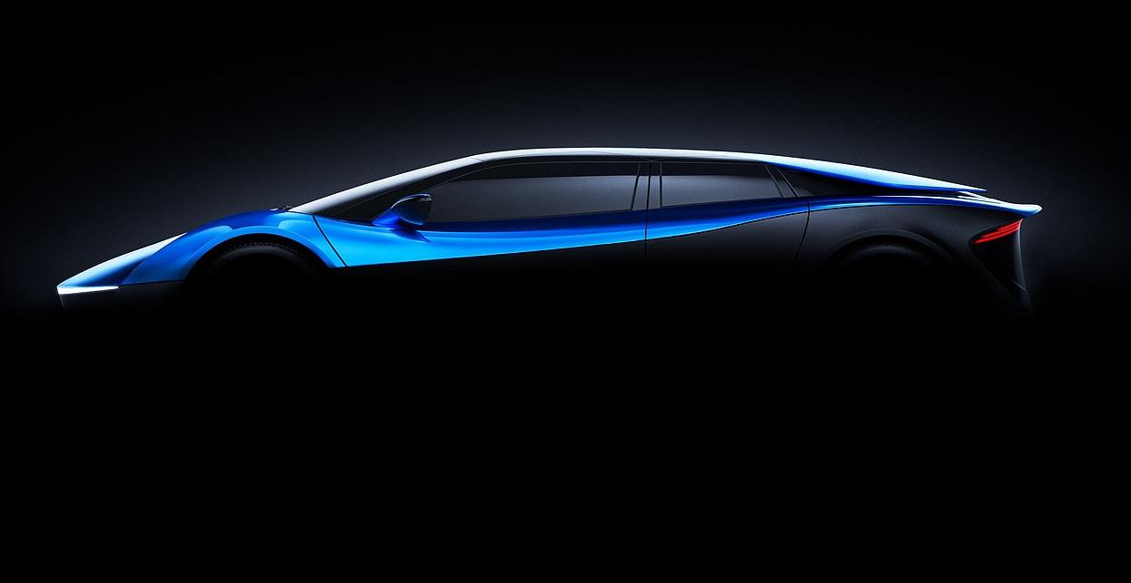 Elextra: las nuevas fotos del supercoche eléctrico del futuro