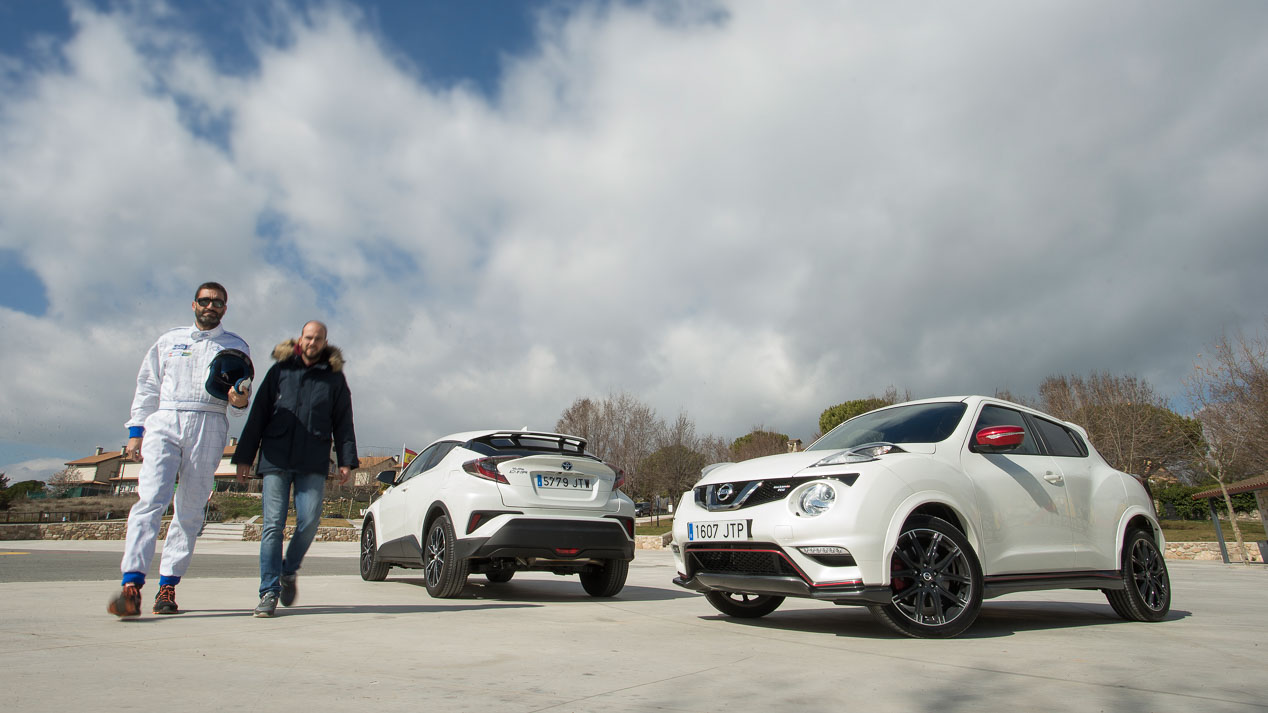 Comparativa: Toyota C-HR vs Nissan Juke Nismo RS