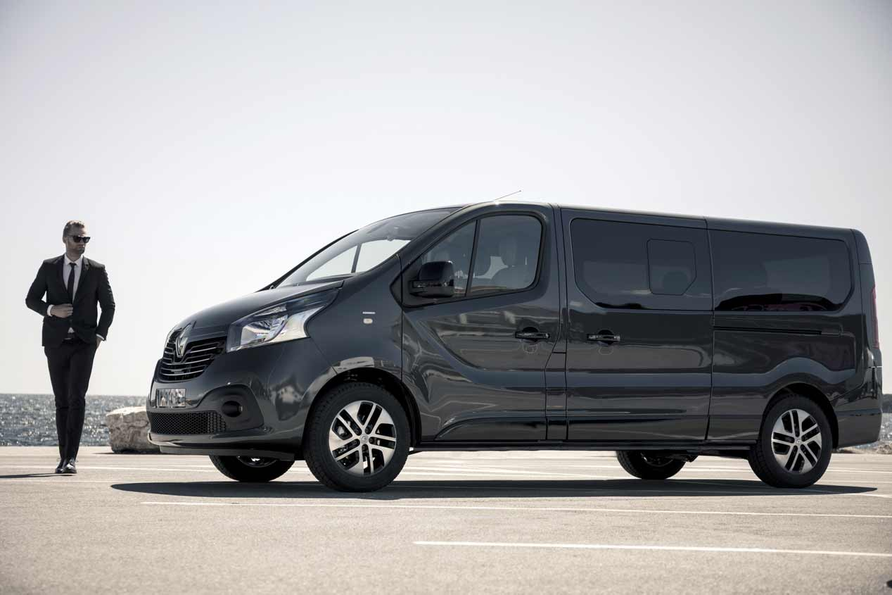 La Renault Trafic SpaceClass, en fotos