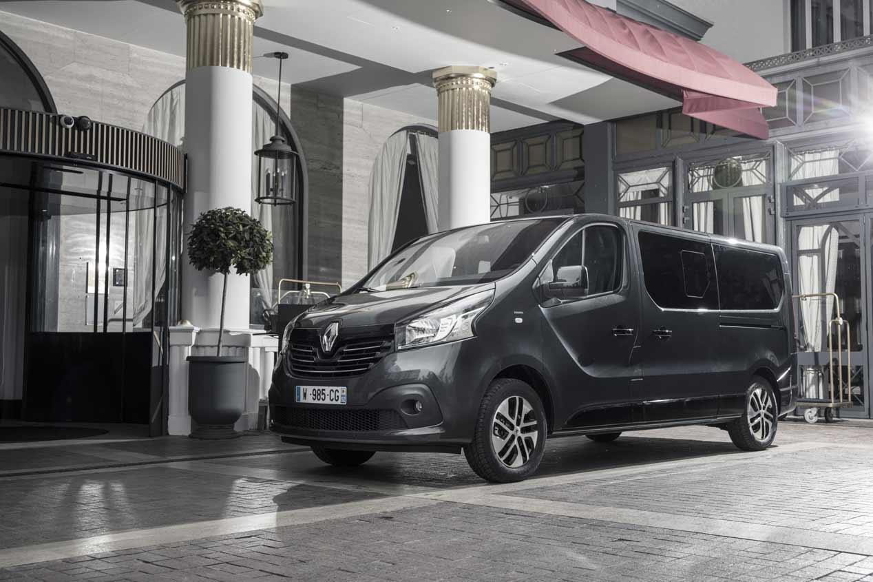 La Renault Trafic SpaceClass, en fotos