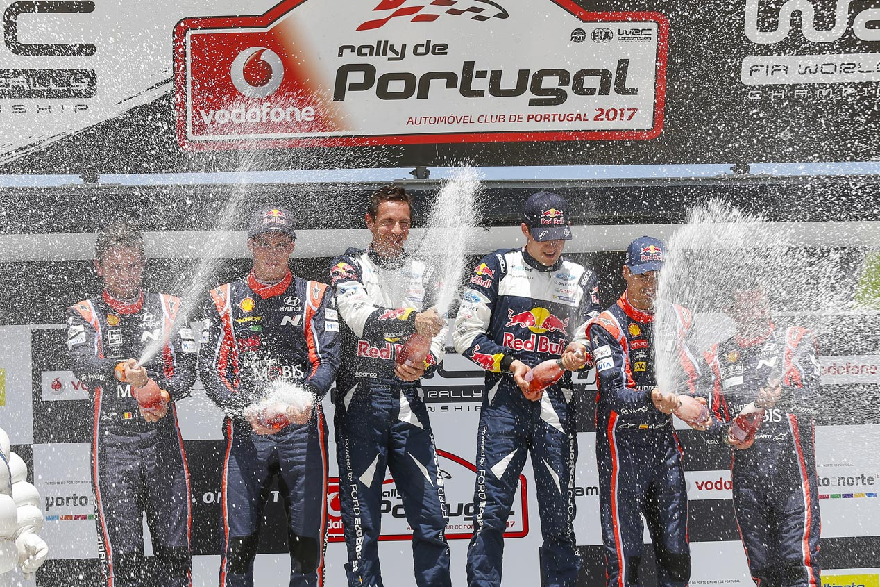 Las mejores imágenes de Hyundai en el Rally de Portugal 2017