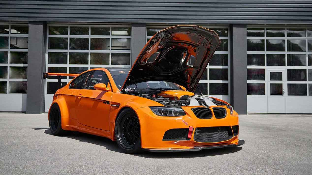 BMW M3 GT2 S Huricane, un deportivo alemán de 718 CV