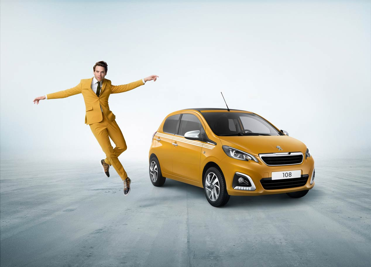 Peugeot 108 Collection, nueva edición especial con padrino de lujo