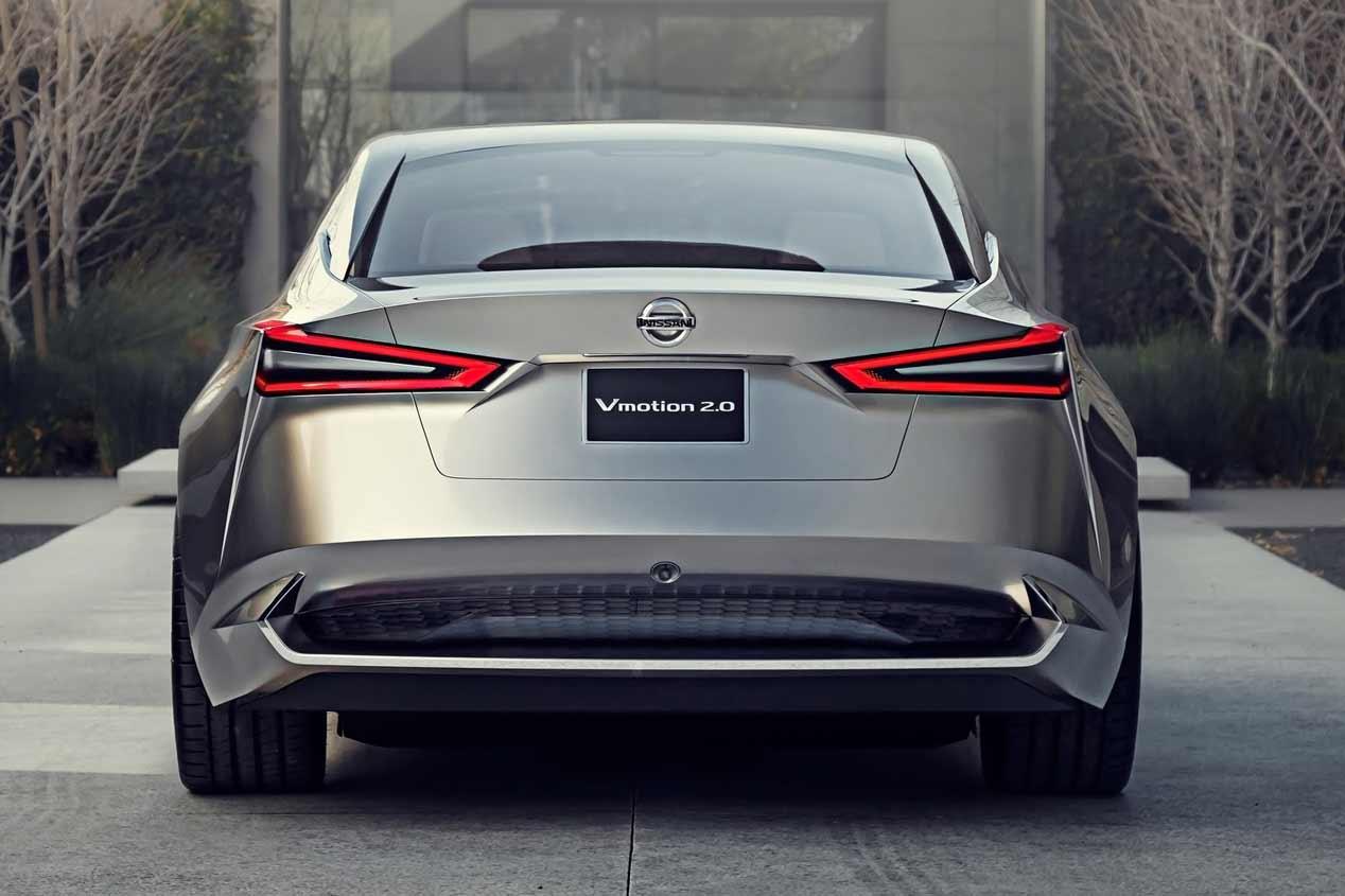 El prototipo Nissan Vmotion 3.0, la base de un futuro SUV eléctrico