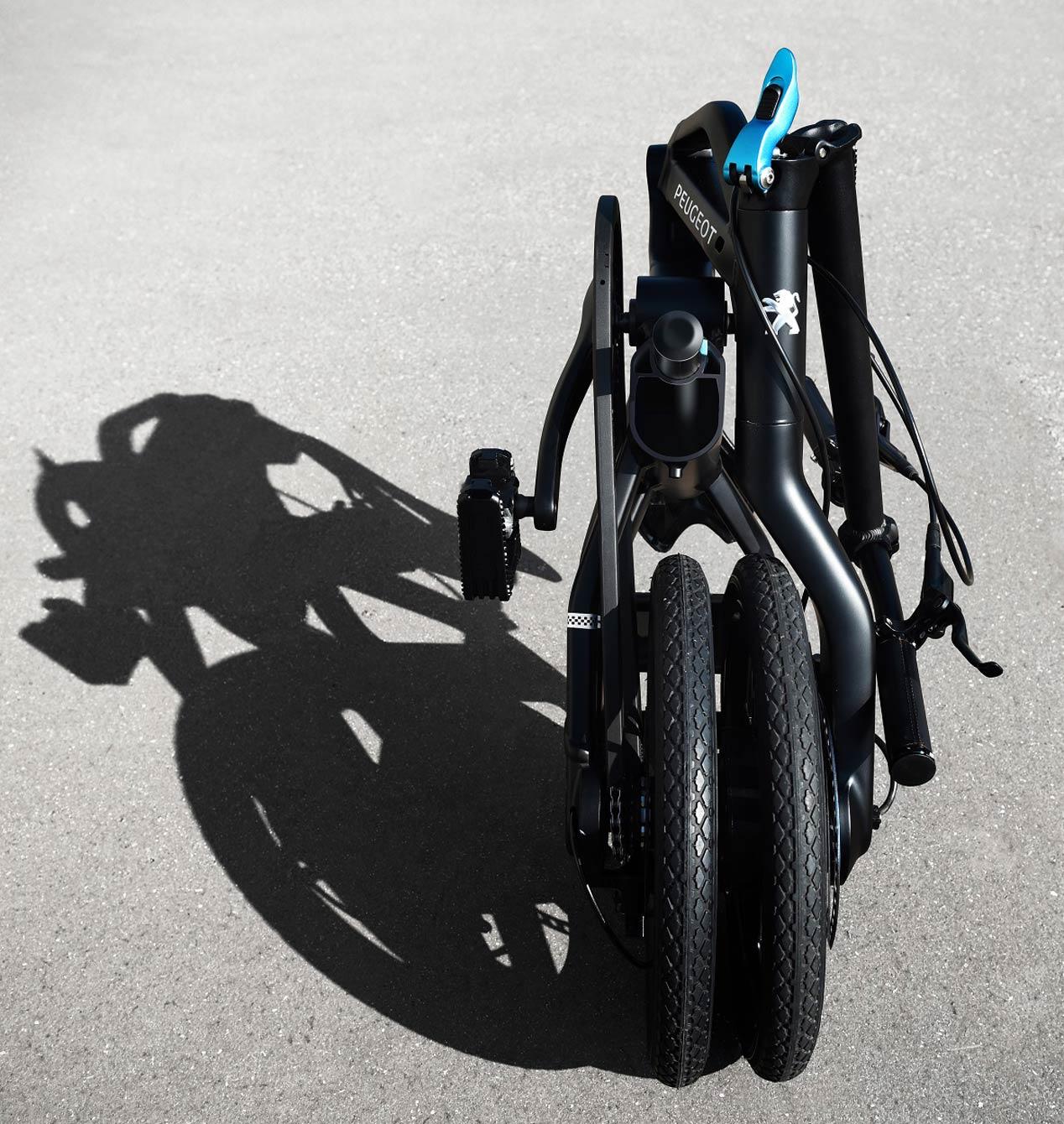 eF01, la nueva bicicleta eléctrica plegable de Peugeot