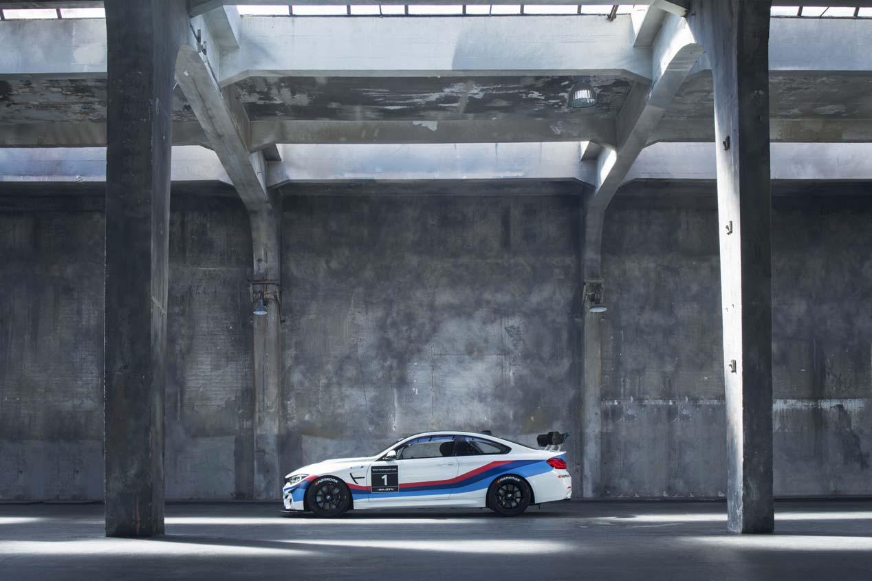 El nuevo BMW M4 GT4 en fotos