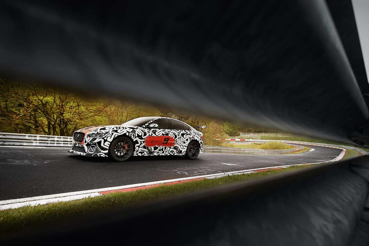 Jaguar XE SV Project 8: el Jaguar más potente de todos los tiempos