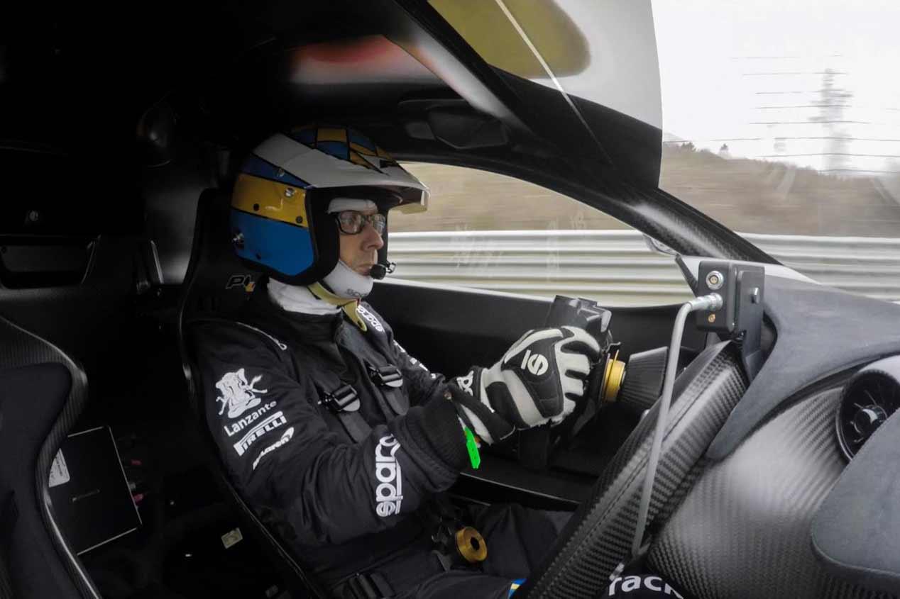 McLaren XP1LM, nuevo récord de vuelta rápida en Nürburgring