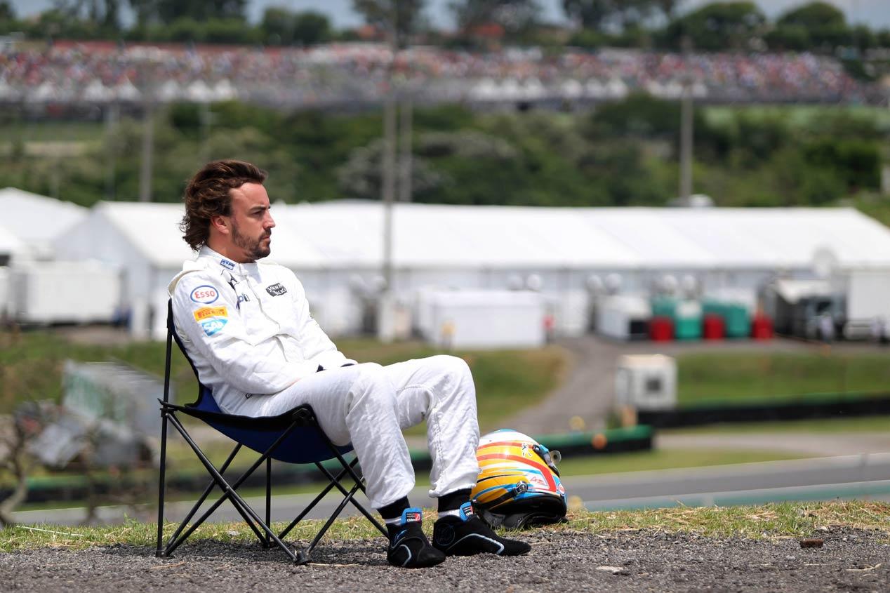 Fernando Alonso y Honda, la pesadilla continúa