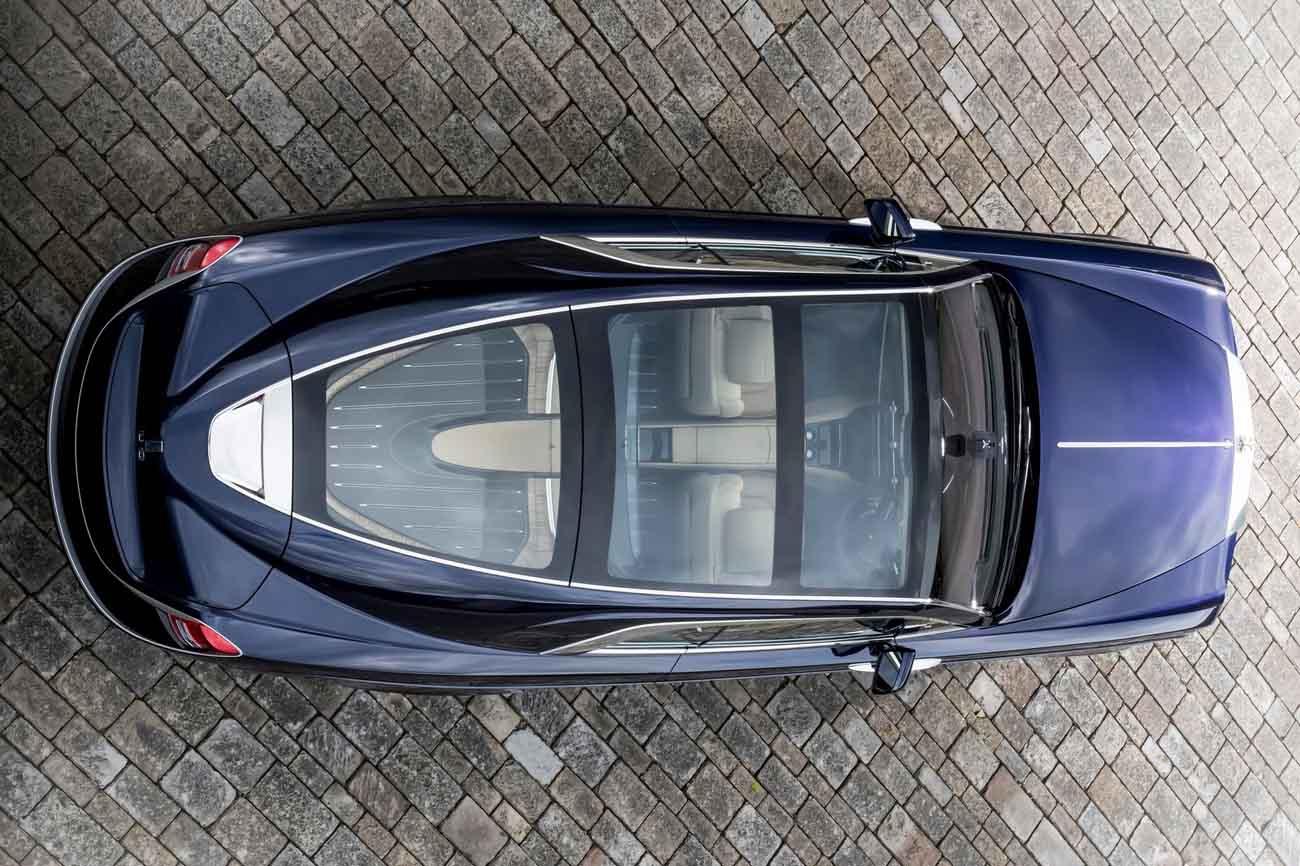 Así es el nuevo Rolls - Royce Sweptail