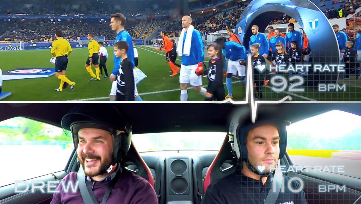 Fútbol o coches, ¿qué emociona más?