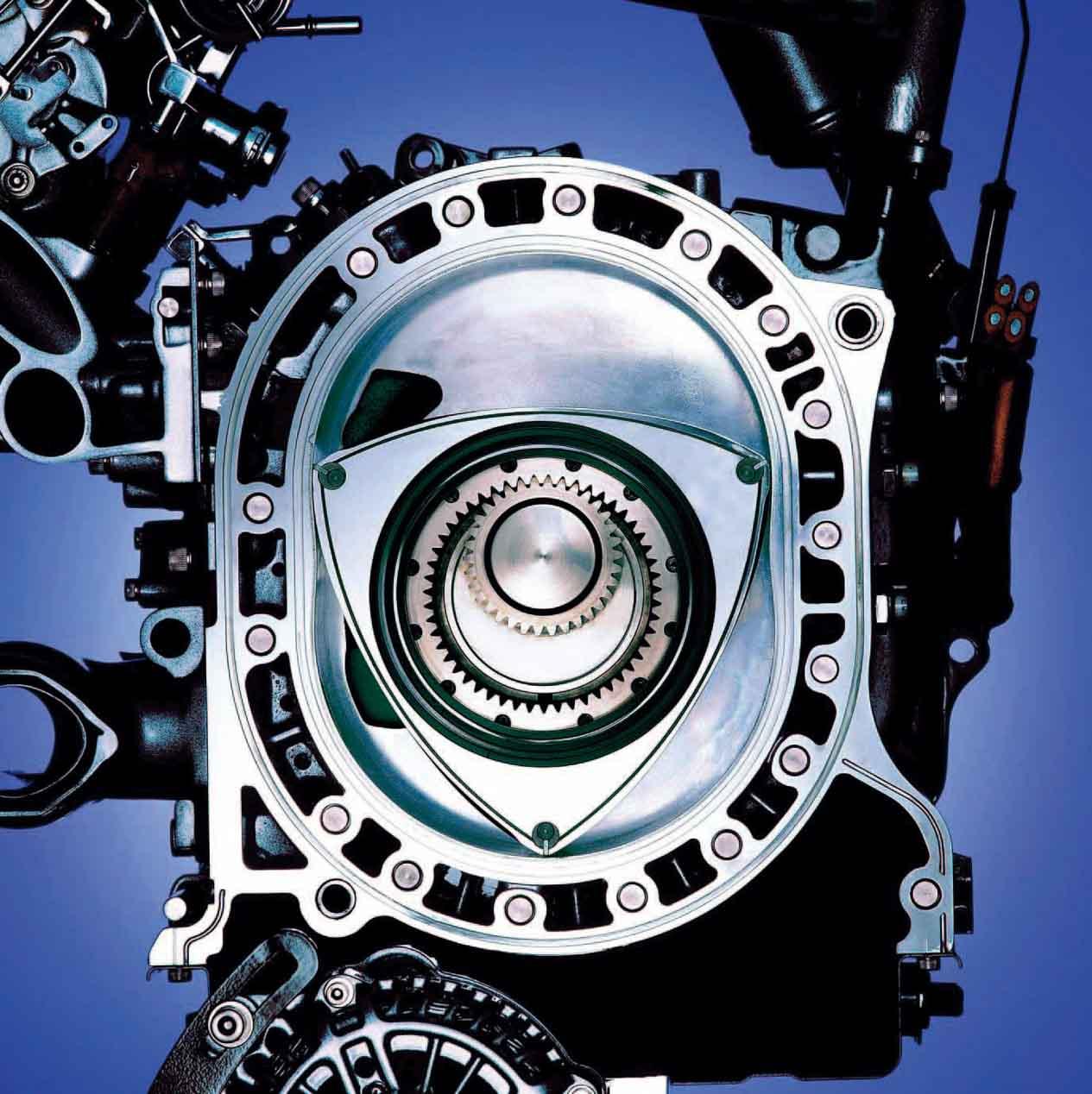 Mazda celebra 50 años del motor rotativo