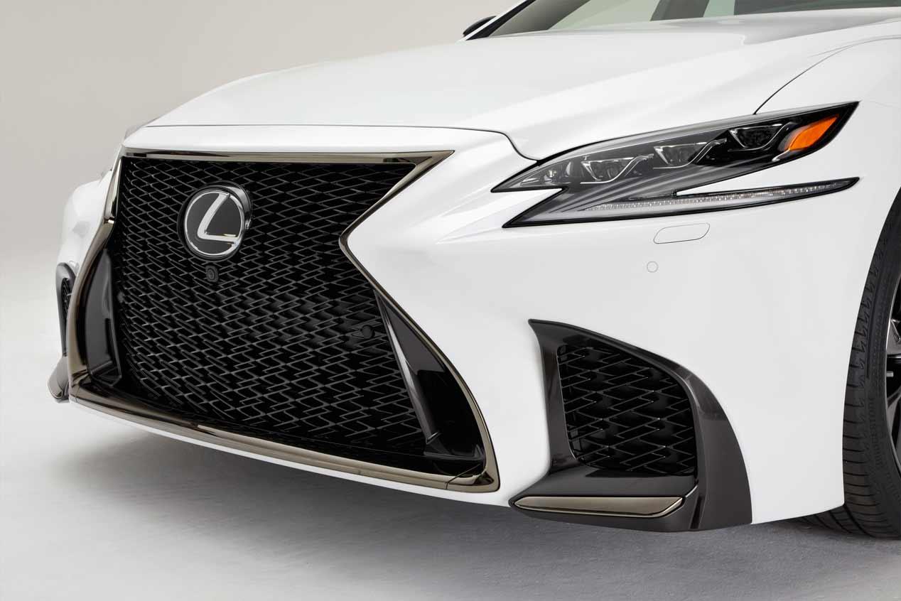 Lexus LS 500h F-Sport, sus mejores fotos