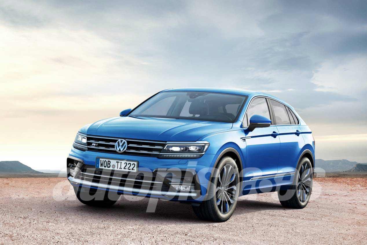 Volkswagen Tiguan Coupé 2018 y sus rivales