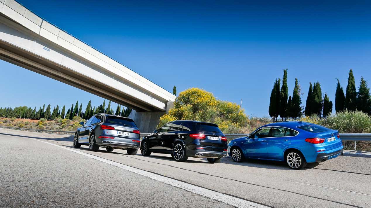 Audi SQ5, BMW X4 M40i y Mercedes-AMG GLC 43, tres SUV de enfoque deportivo