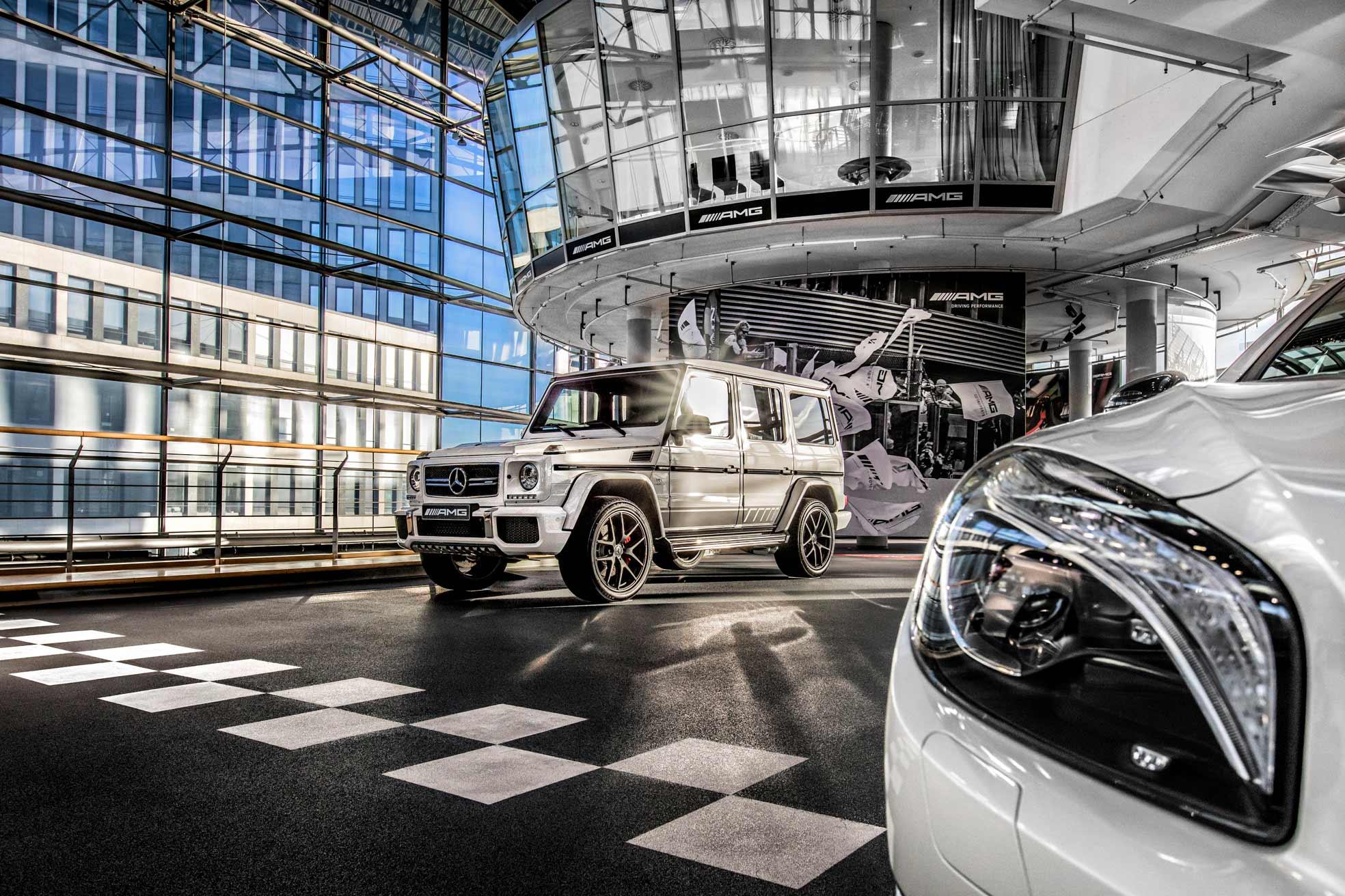 Mercedes-AMG cumple 50 años
