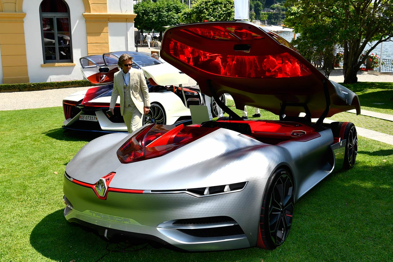 Renault TreZor, el prototipo más bonito en Villa D'Este