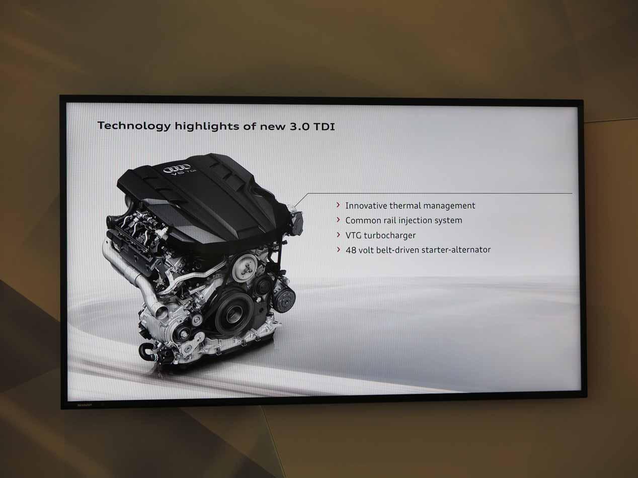 """Motores en V """"electrificados"""" del nuevo Audi A8"""