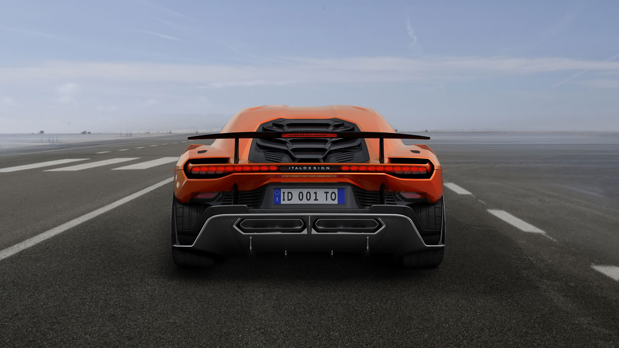 Italdesign muestra sus visiones de la automoción: superdeportivos y conducción autónoma