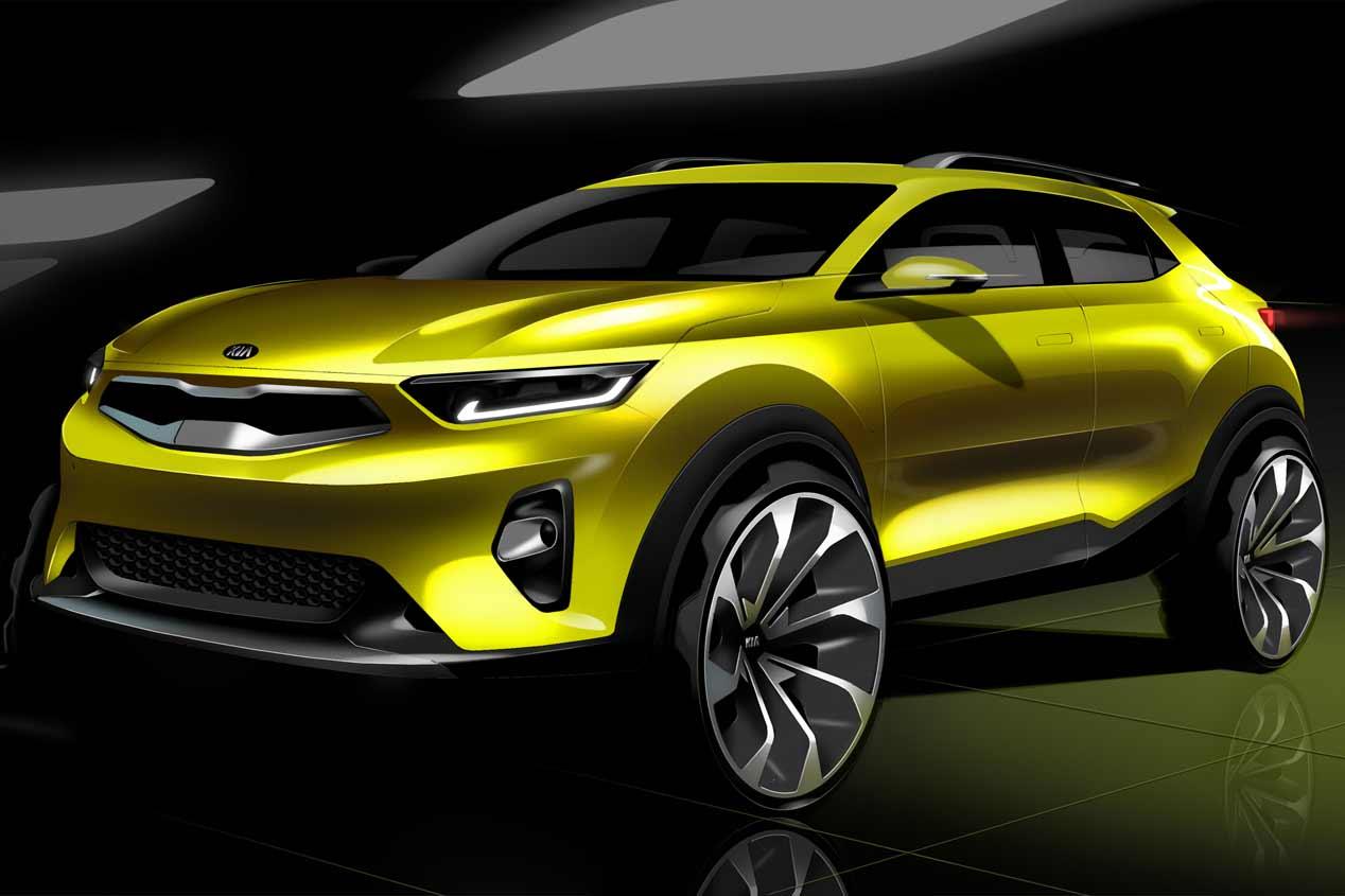 Nuevo SUV Kia Stonic: descubre sus primeras imágenes