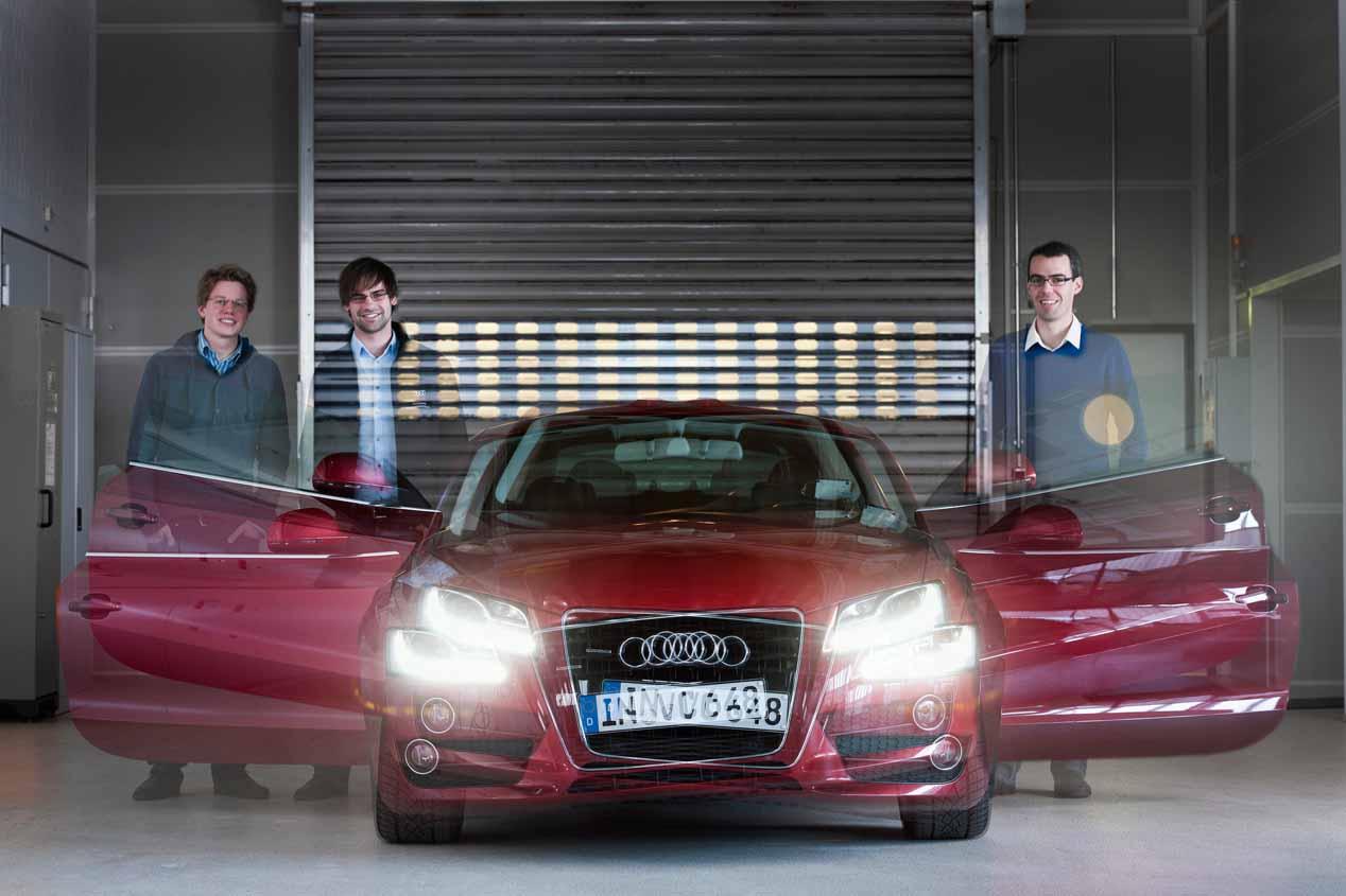 Amortiguación eléctrica en el Audi A8 y ¿suspensión pendular para evitar el mareo?
