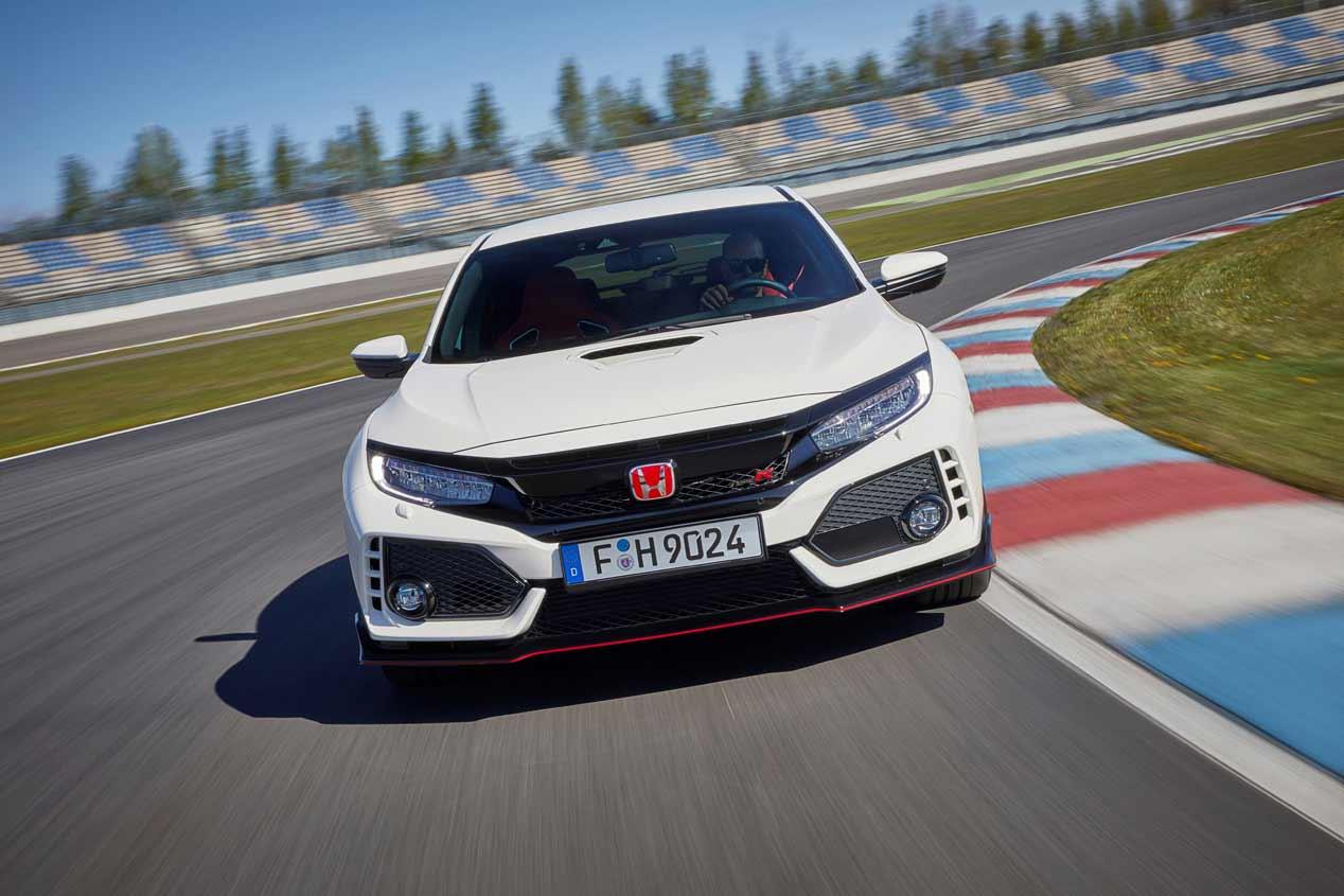 Honda Civic Type R 2017: las FOTOS de este brutal deportivo